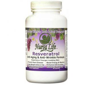 Resveratrol with 25 Antioxidant Supplements, Anti-Aging formula